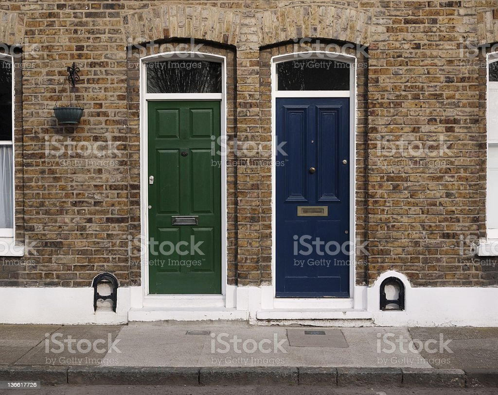 Next door royalty-free stock photo