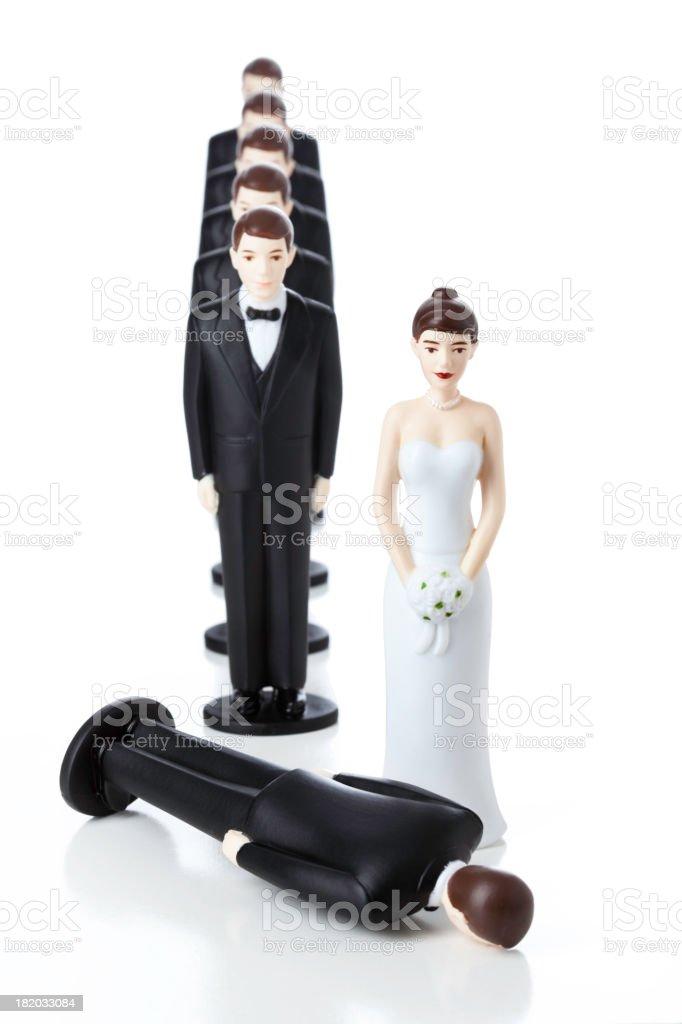 Next Ex-Husband royalty-free stock photo