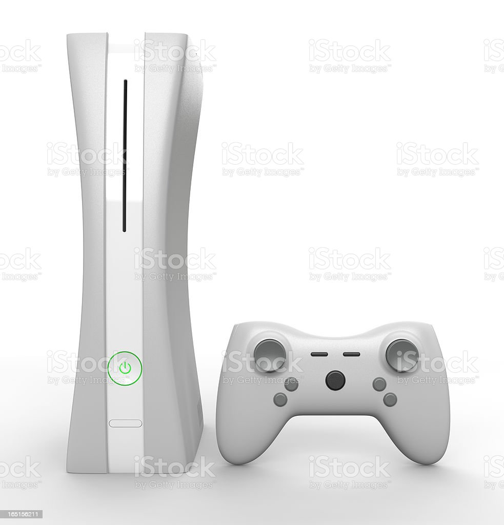 Next Gen Game Console stock photo