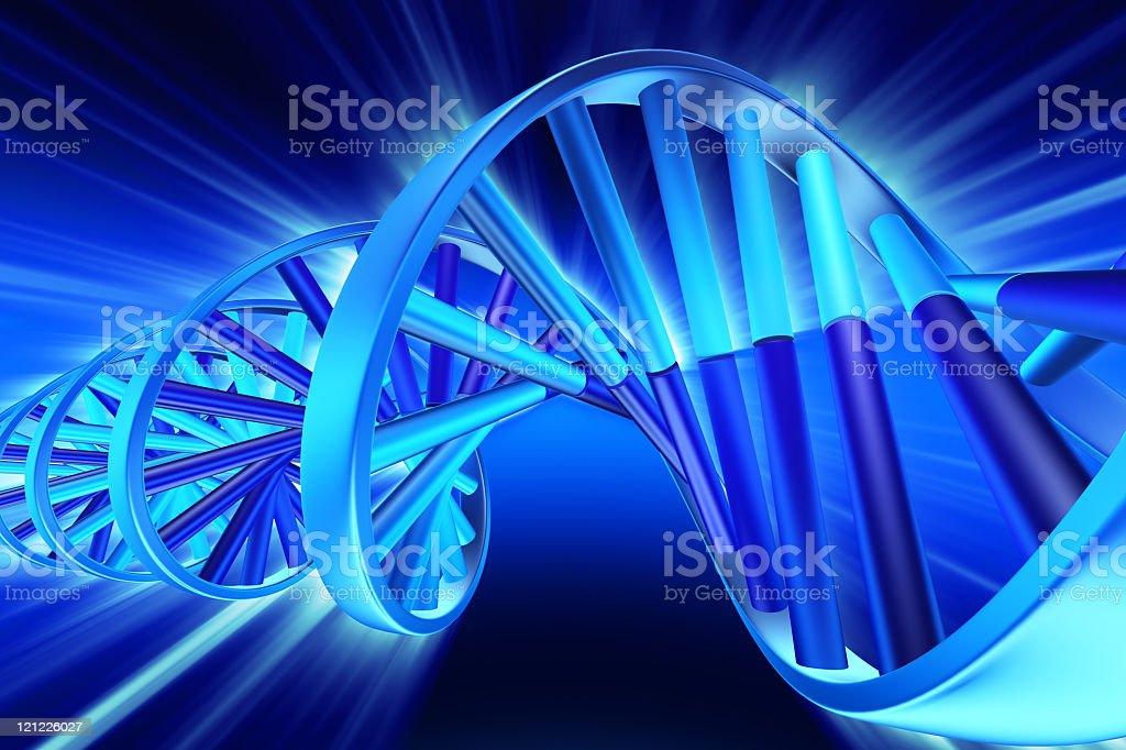 DNA. Next generation royalty-free stock photo