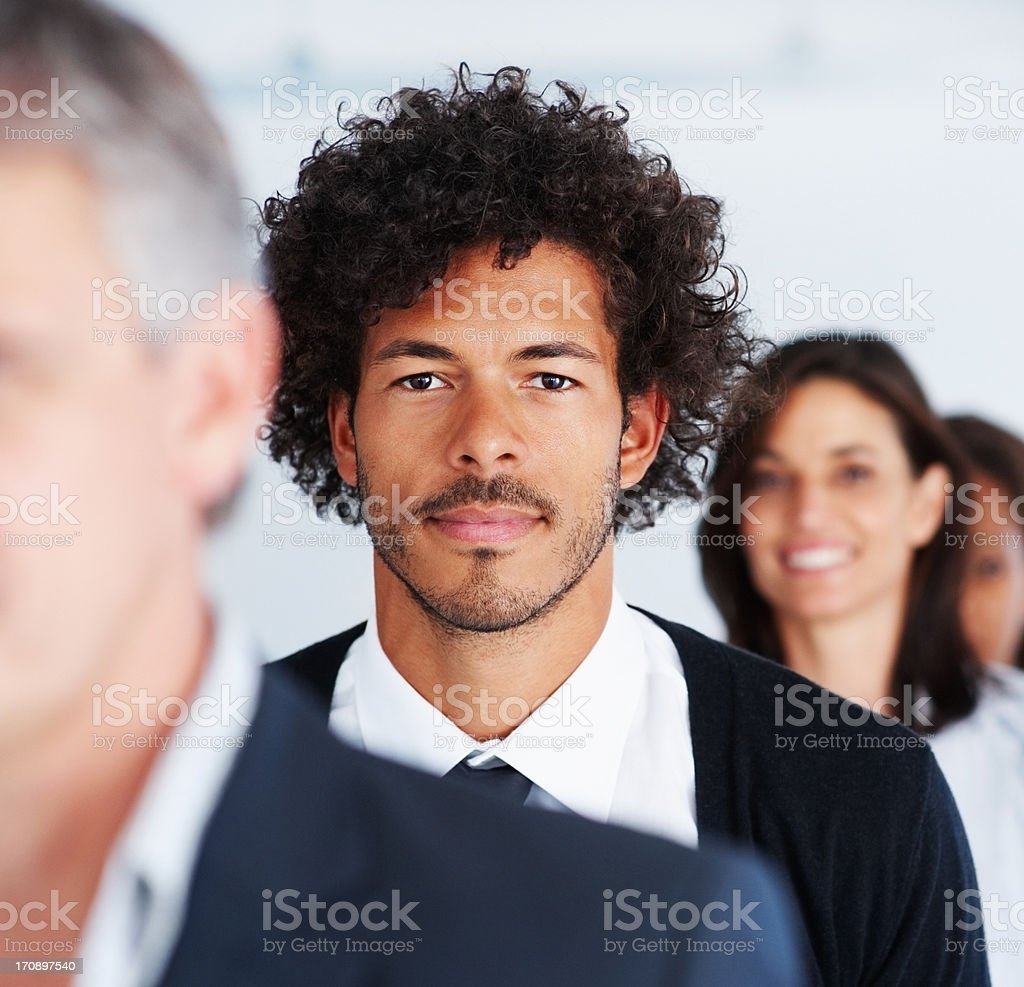 Next in line to run the corporation stock photo