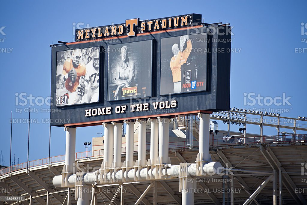 Neyland Stadium stock photo