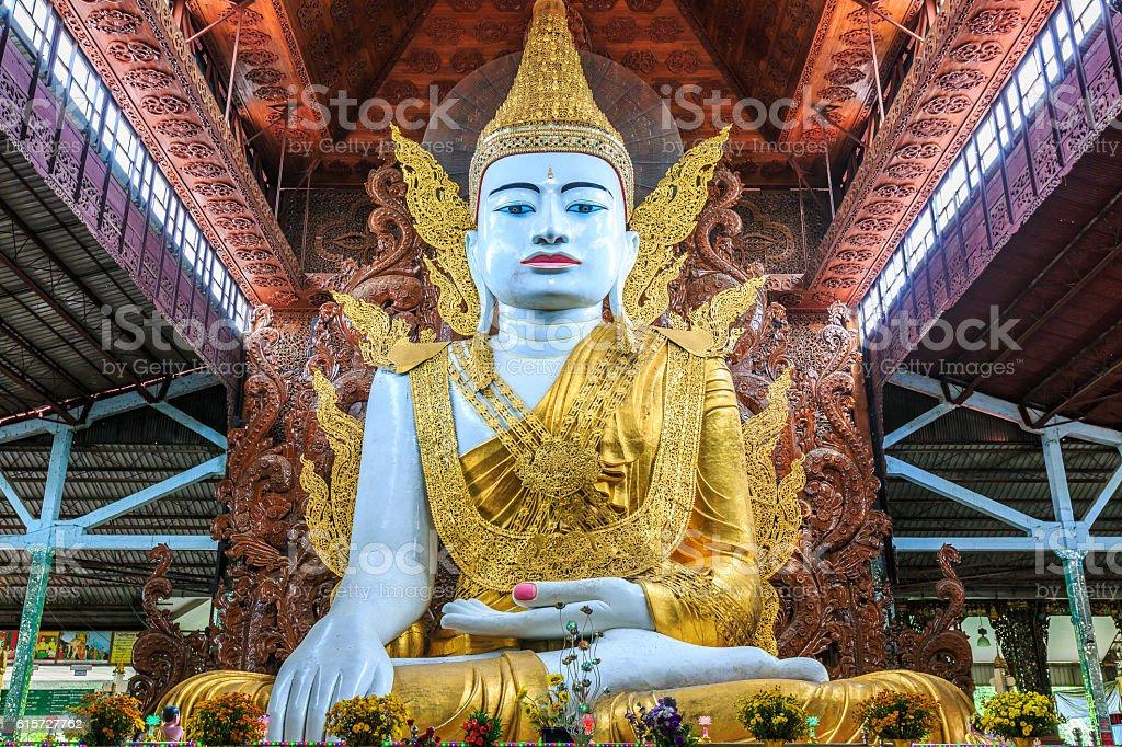 Nga Htat Gyi Pagoda stock photo