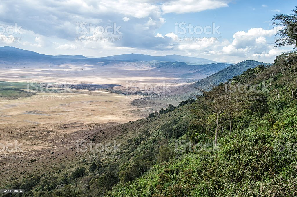 Ngorogoro stock photo