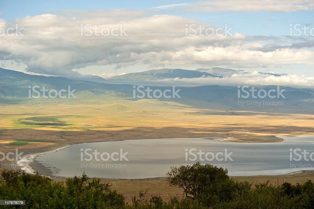 Ngorongoro Crater, Tanzania, Africa stock photo