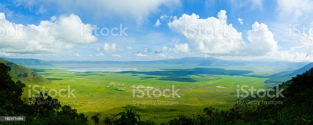 Ngorongoro Crater, Tanzania, Africa (XXXL) stock photo