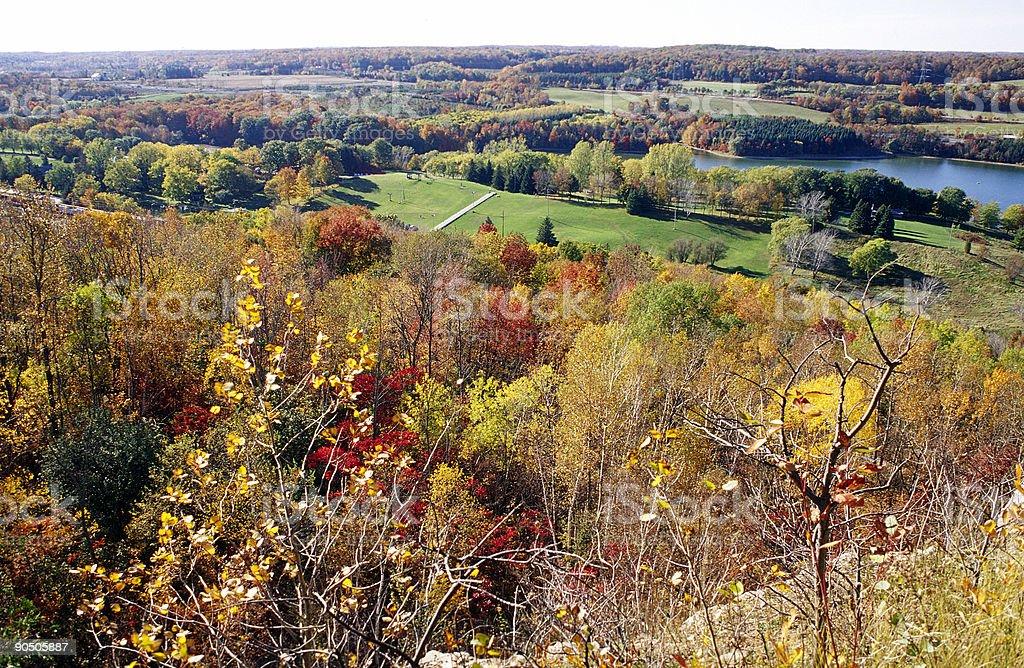 Niagara Escarpment & Region, Ontario royalty-free stock photo