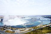 Niagara Falls and Niagara River in Winter