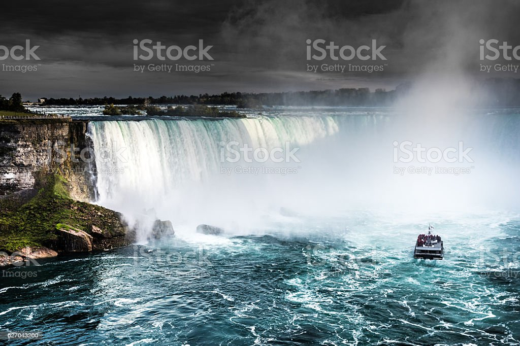 Niagara Falls - Canada - North America stock photo