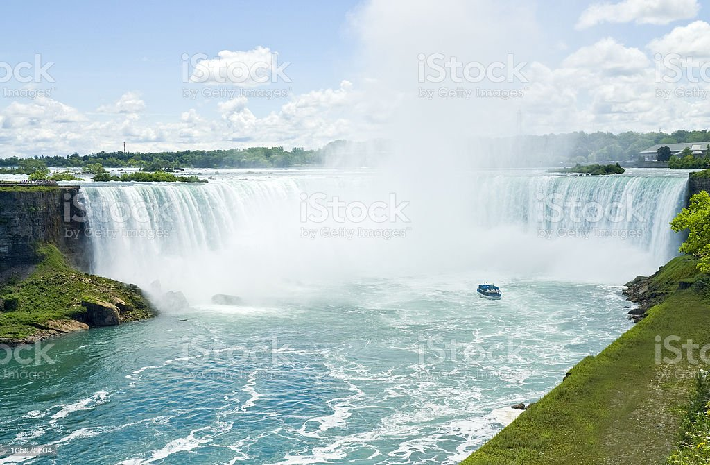 Niagara Falls Canada stock photo