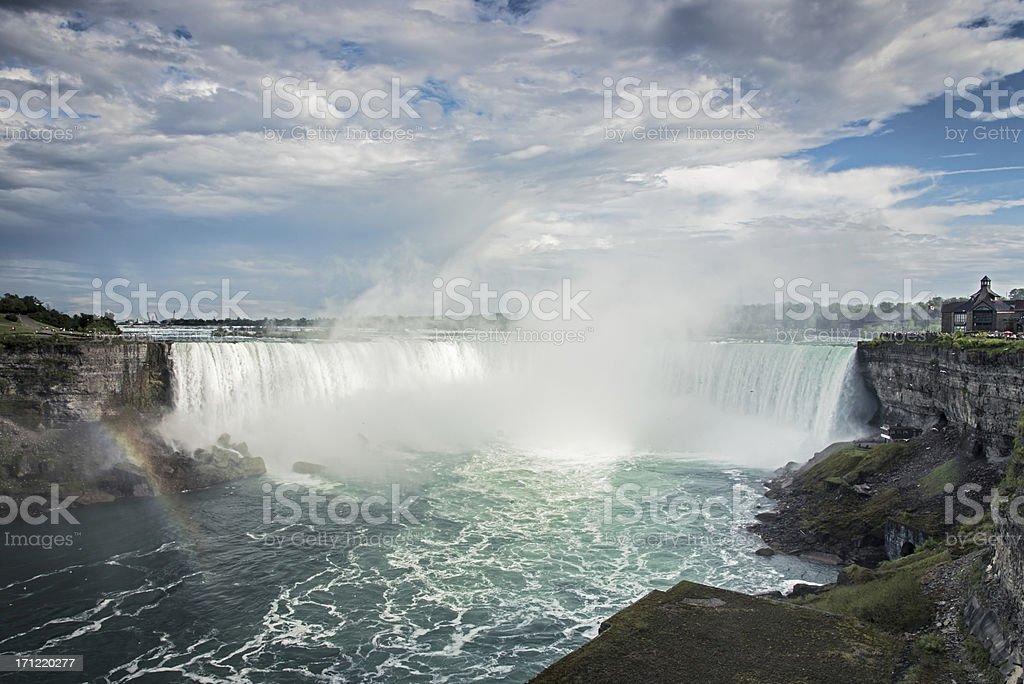 Niagara Falls Canada USA stock photo