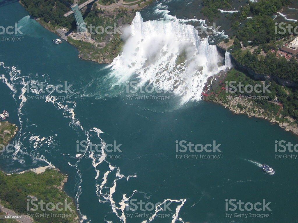Niagara Falls New York royalty-free stock photo