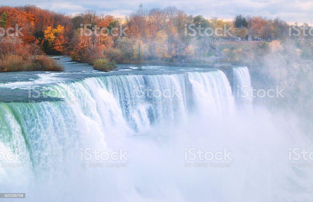 Niagara Falls New York State stock photo