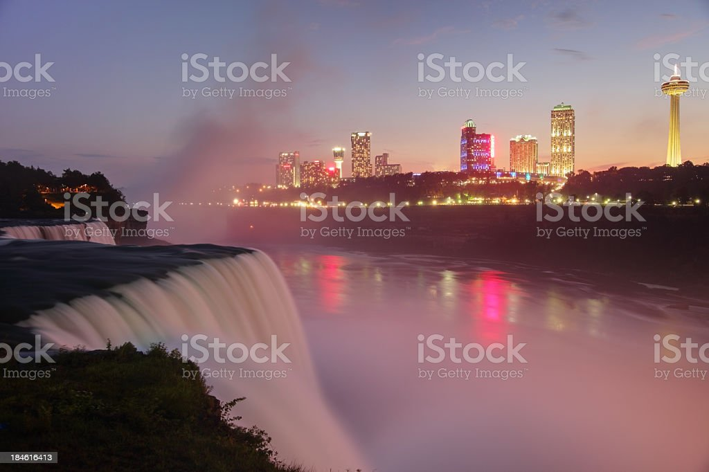 Niagara Falls royalty-free stock photo
