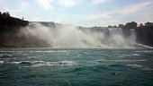 Niagara Falls Power during summertime