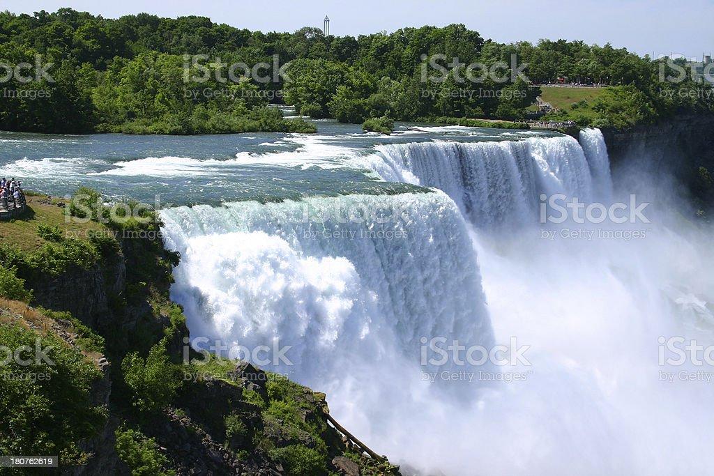 Niagara Falls Summer Time royalty-free stock photo