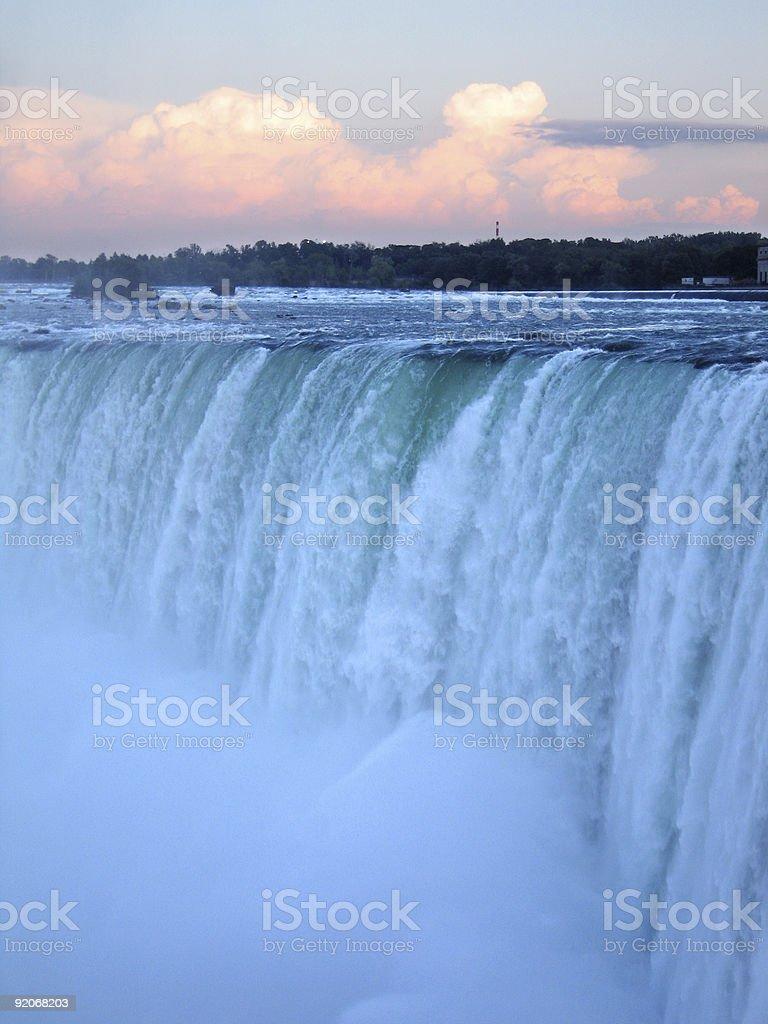 Niagara Falls Vertical royalty-free stock photo