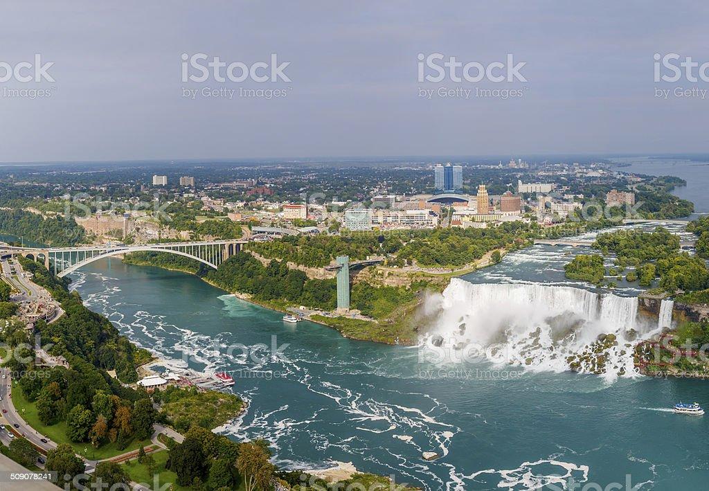 Niagara Falls view stock photo