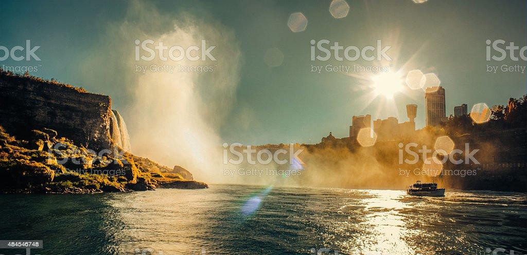 Niagara Falls  waterfall stock photo