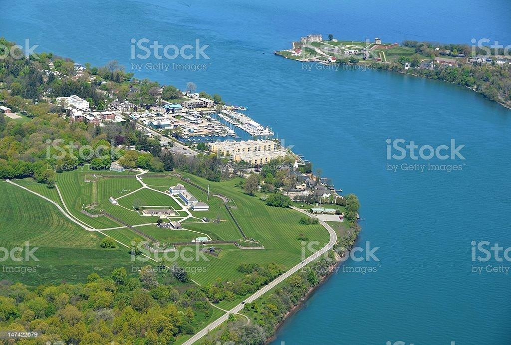 Niagara Forts stock photo
