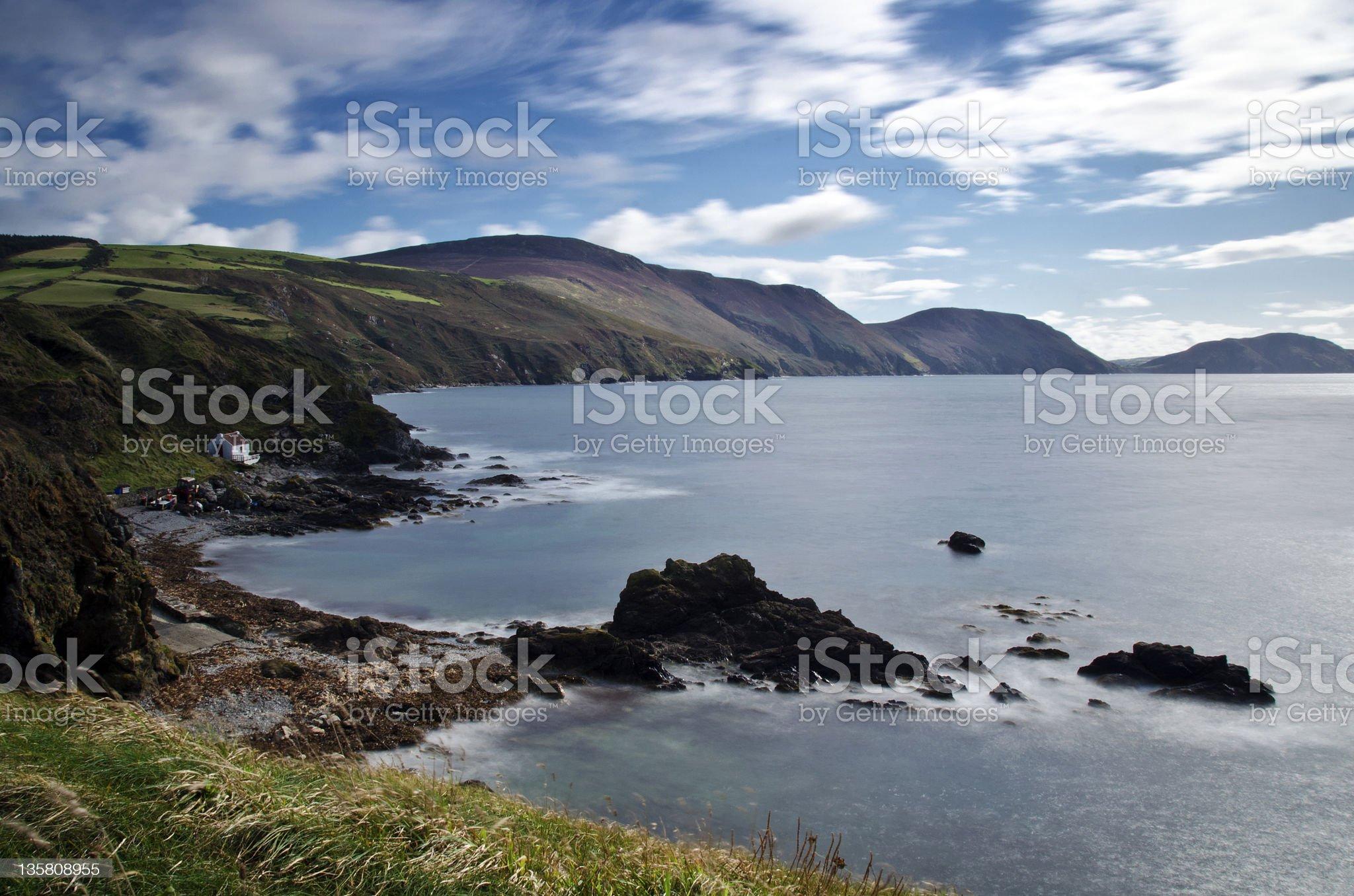 Niarbyl - Isle of Man royalty-free stock photo