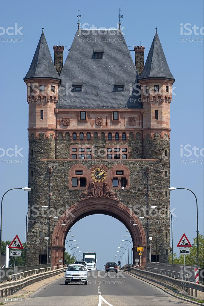 Nibelung Tower, Worms, Germany stock photo