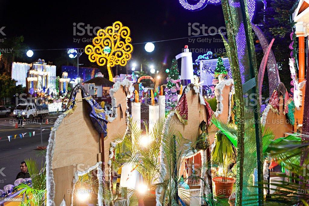 Nicaragua Christmas Festivities stock photo