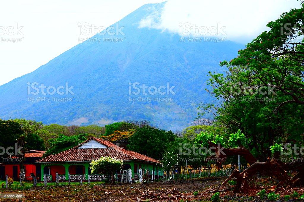 Nicaragua: Isla de Ometepe & Volcán Concepción stock photo
