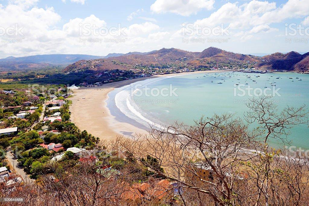Nicaragua. San Juan Del Sur. stock photo