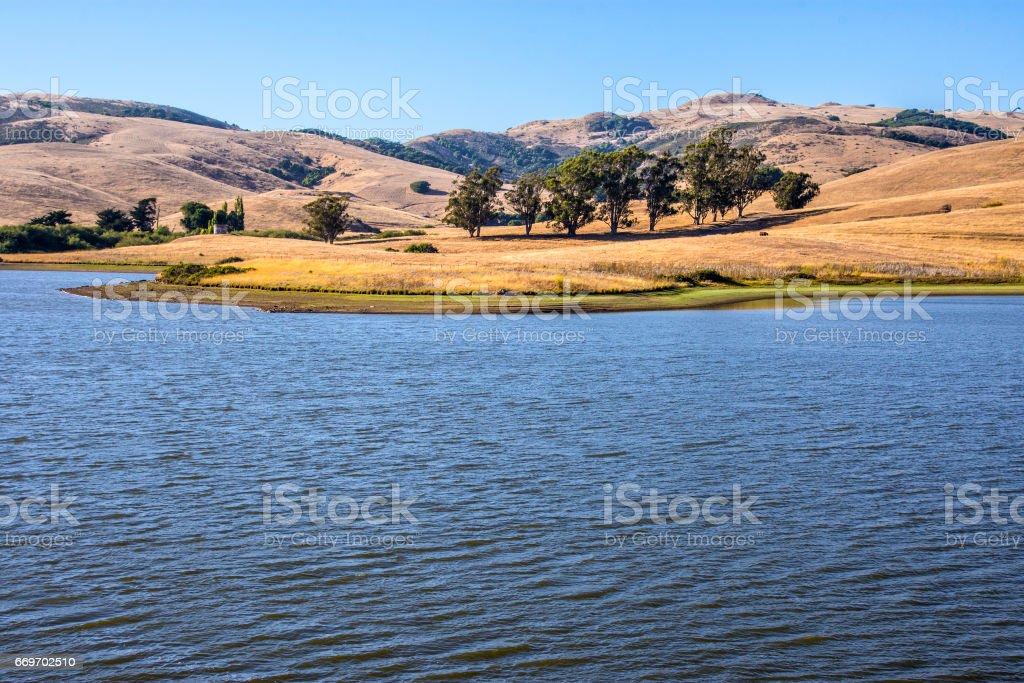 Nicasio water stock photo