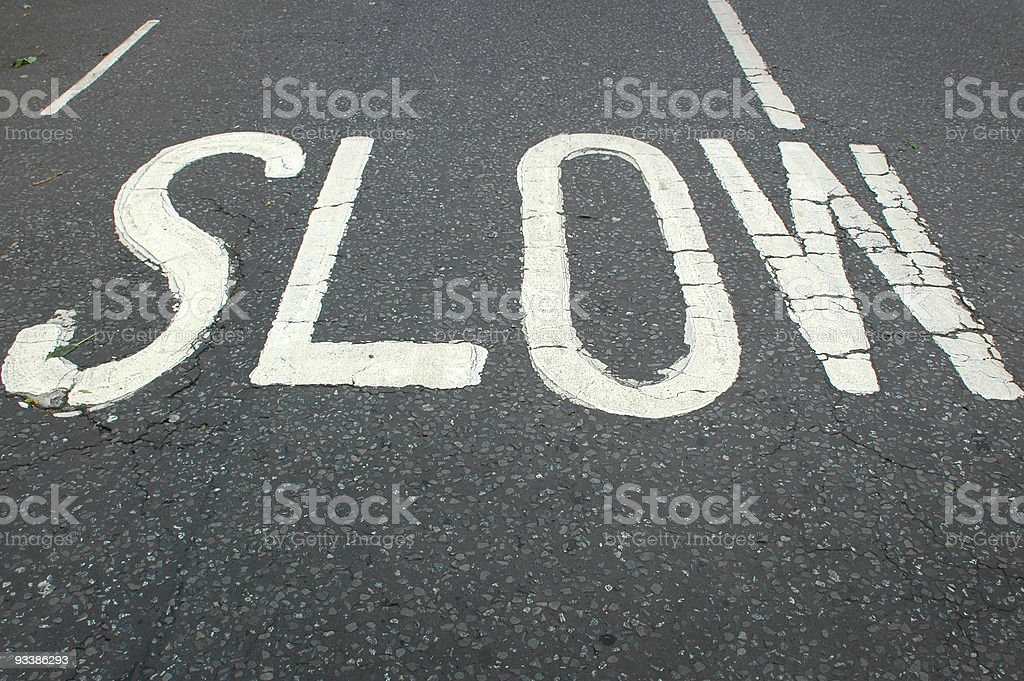 Nice and slow.. royalty-free stock photo