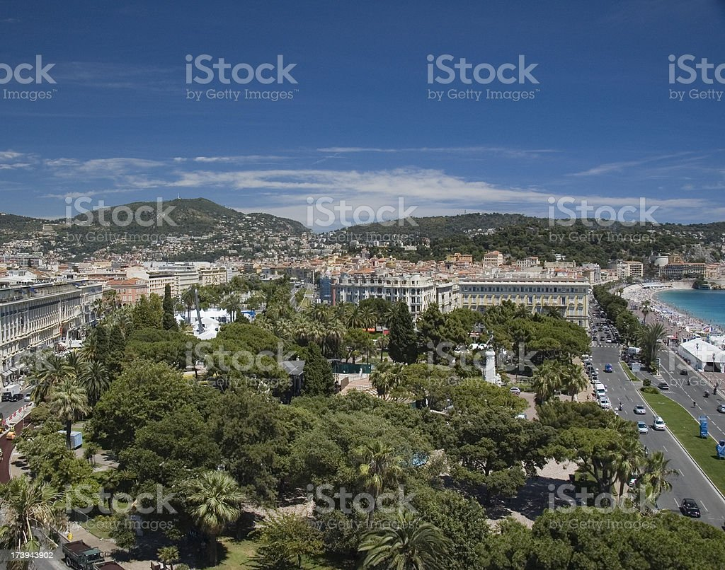 nice, cote d'azure royalty-free stock photo