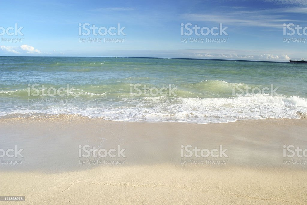Nice Beach royalty-free stock photo