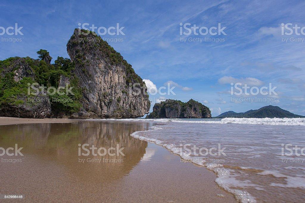 Nice beach stock photo