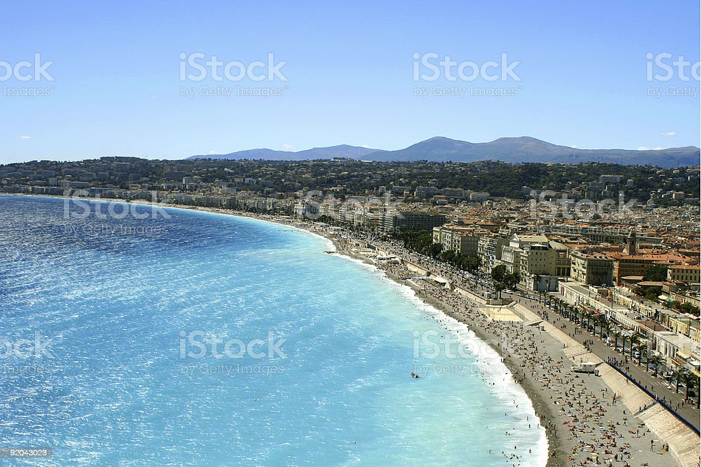 Nice beaches royalty-free stock photo