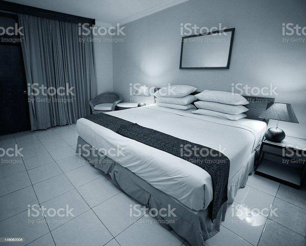 Nice bedroom royalty-free stock photo