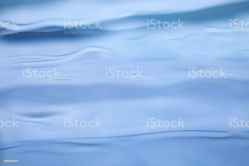 Nice blue water close up photo stock photo