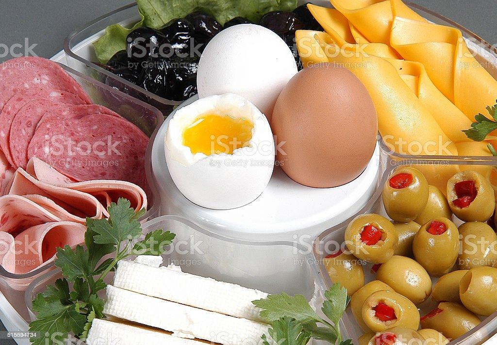 nice breakfast stock photo