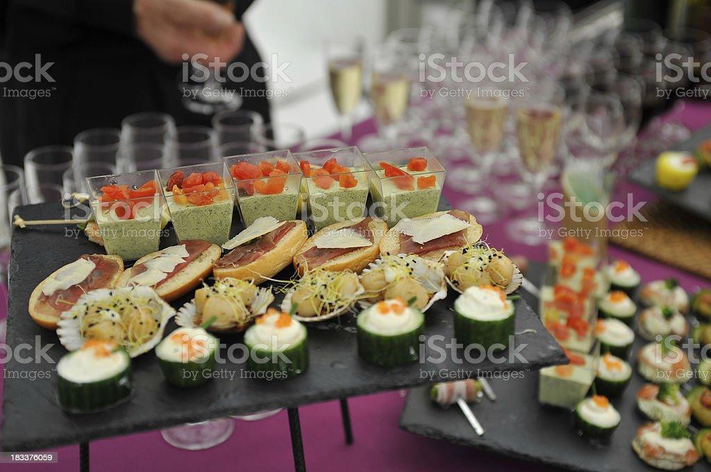 Nice Buffet stock photo