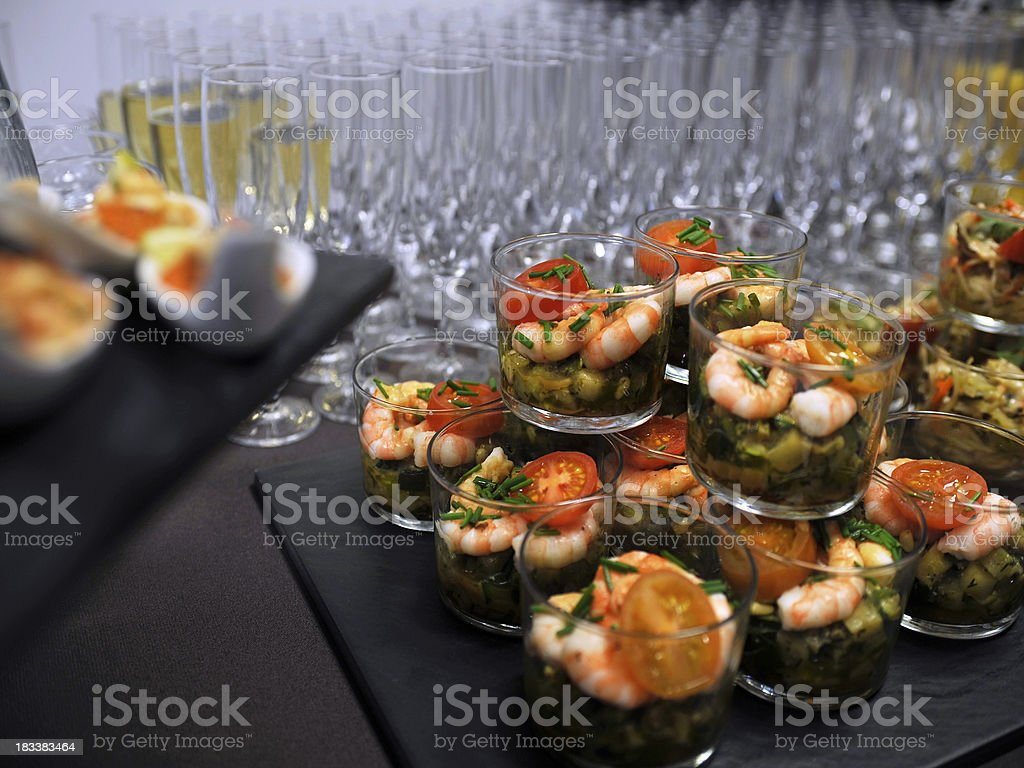 Nice Buffet royalty-free stock photo