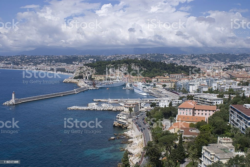 Nice - Côte d'azur royalty-free stock photo