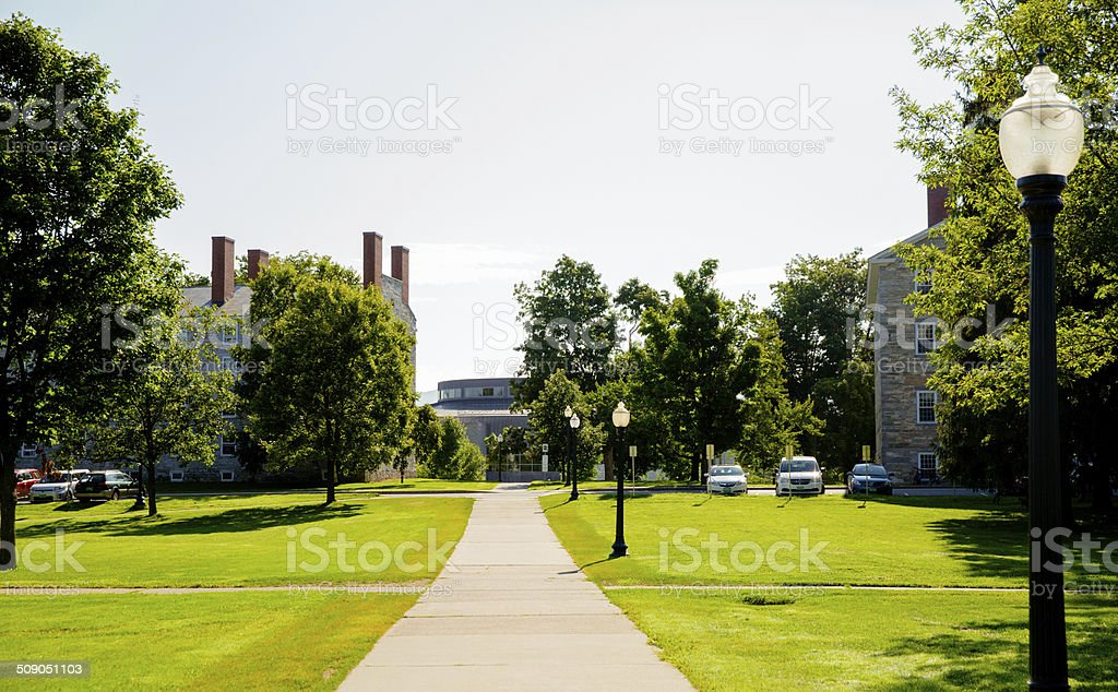 Nice campus stock photo