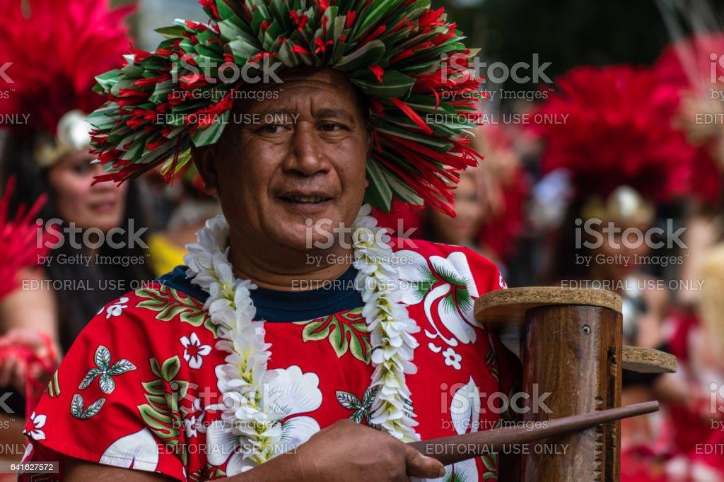 Nice Carnival kicks off along new route stock photo