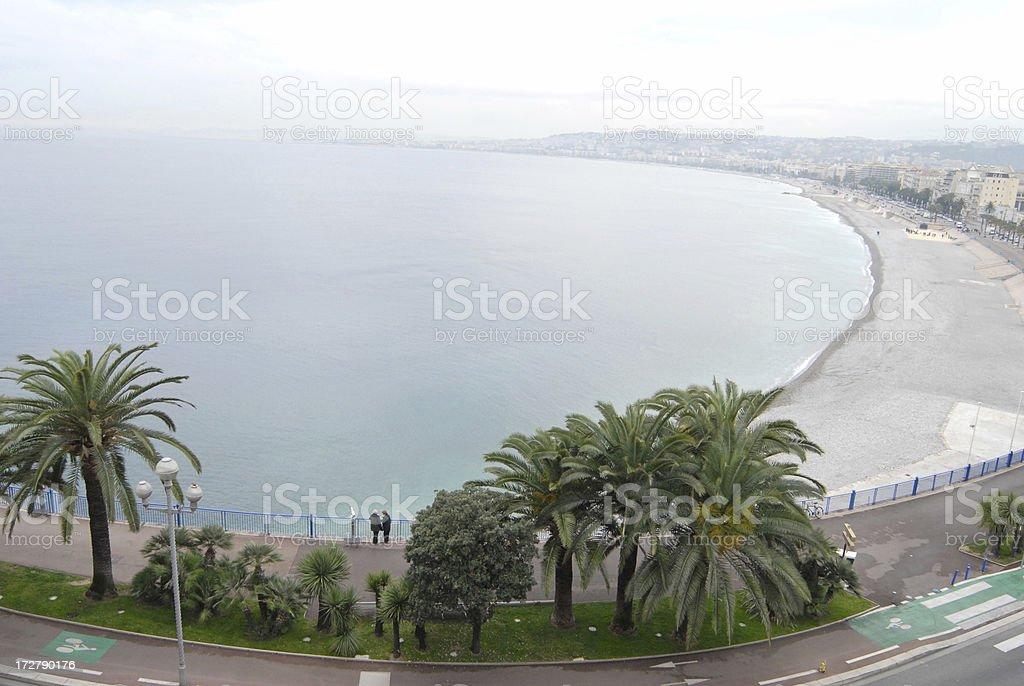 Nice coastline stock photo
