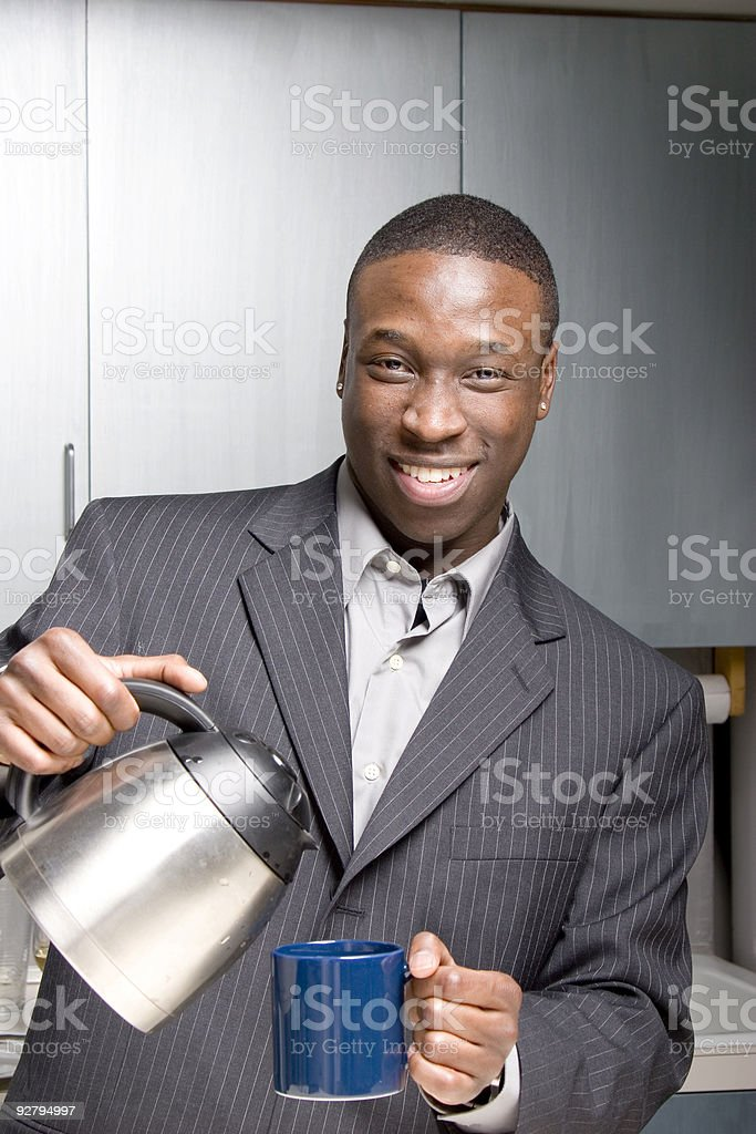Nice coffee royalty-free stock photo