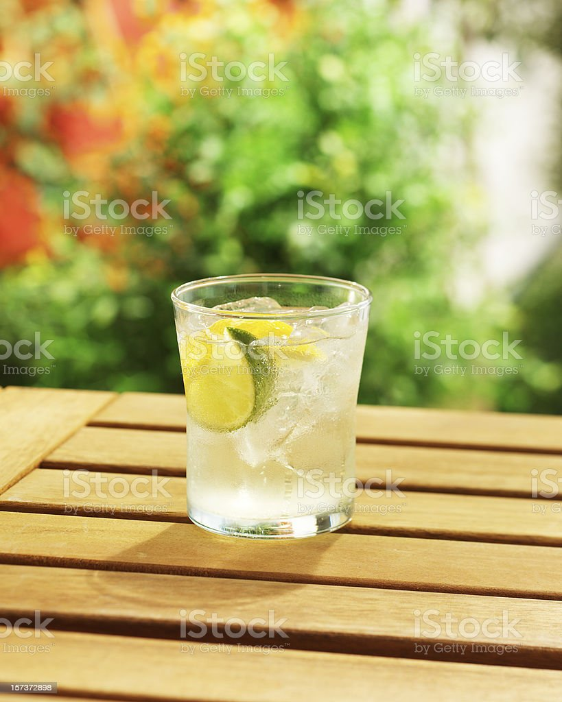 Nice Cold Drink stock photo