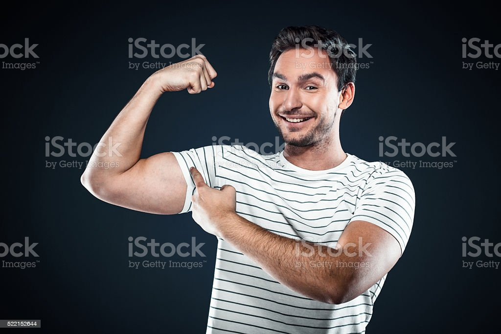 Nice concept for young businessman stock photo