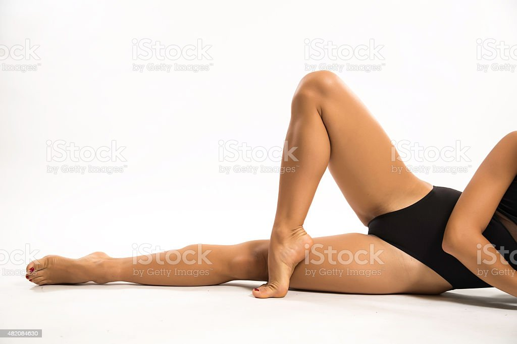 nice feet stock photo