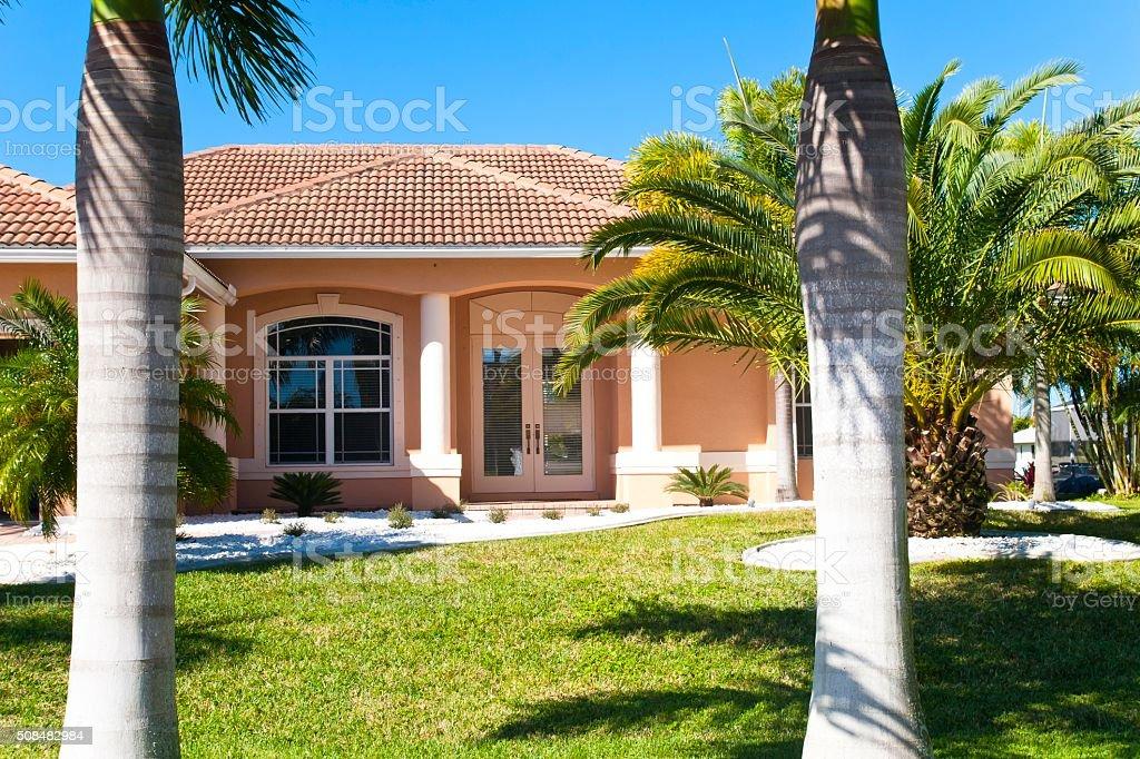 Nice Florida Home stock photo