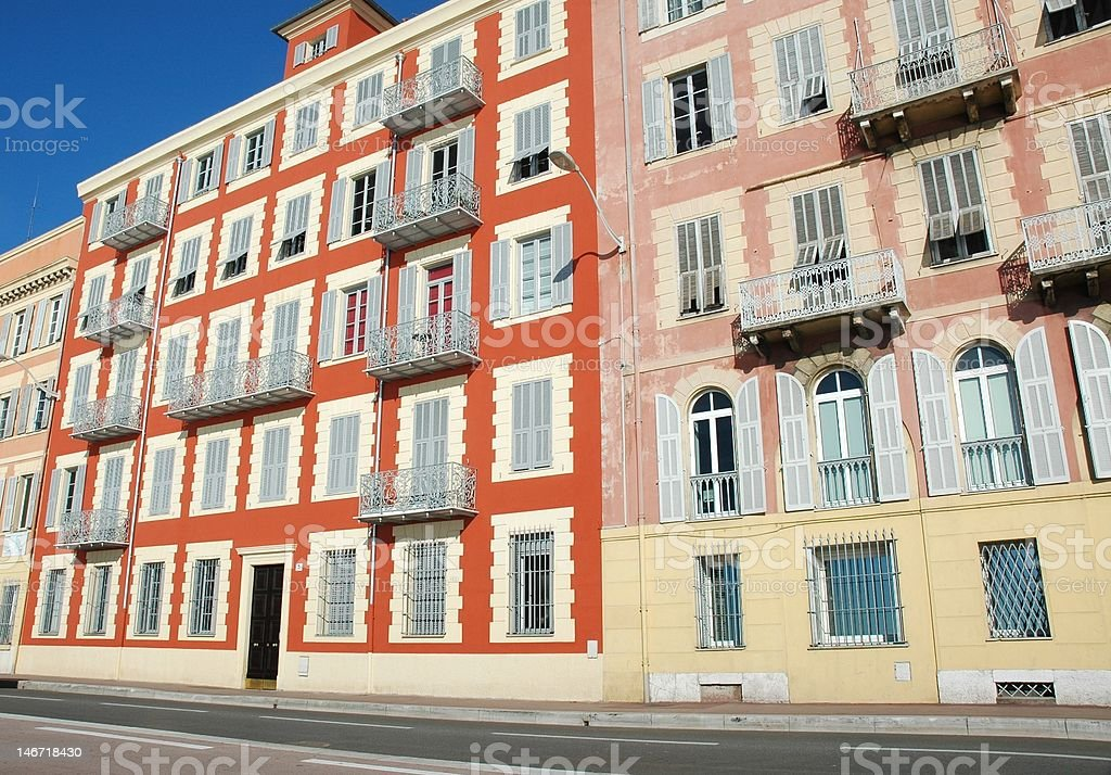 Nice, French Riviera royalty-free stock photo